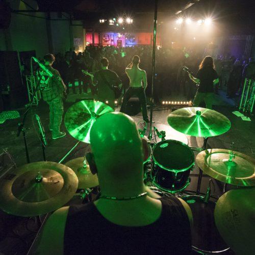 Muziekfotografie, Bandfotografie